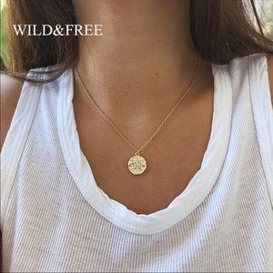 💕 dainty rhinestone necklace 💕